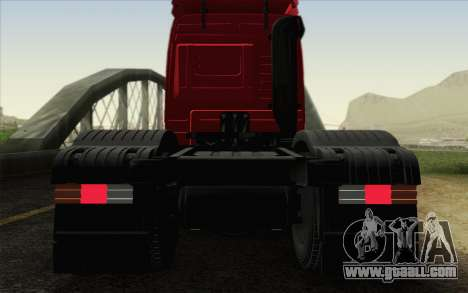 Mercedes-Benz Actros for GTA San Andreas upper view