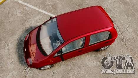Daewoo Matiz SE 1998 for GTA 4 right view