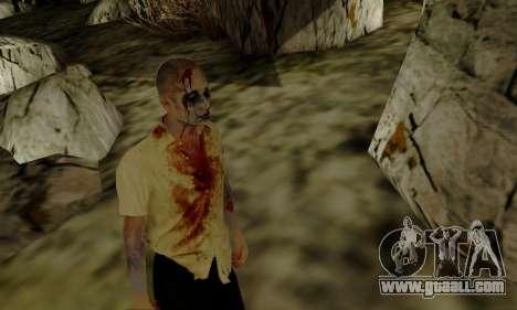 Zombies from GTA V for GTA San Andreas forth screenshot