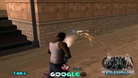 C-HUD Google for GTA San Andreas third screenshot