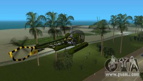 Bell 13H Sioux for GTA Vice City right view