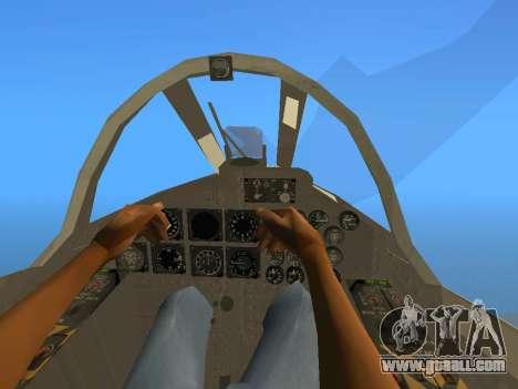 FMA IA-58 Pucara for GTA San Andreas back view