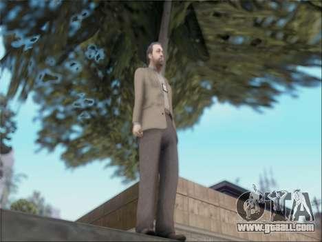 Dave Norton из GTA V for GTA San Andreas third screenshot