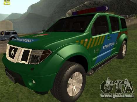 Nissan Pathfinder Police for GTA San Andreas
