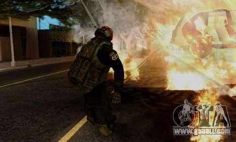 Kopassus Skin 1 for GTA San Andreas seventh screenshot