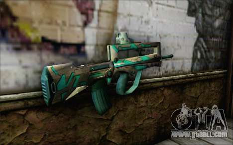 Famas G2 Commando Blaze for GTA San Andreas second screenshot