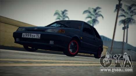 The VAZ-2113 for GTA San Andreas