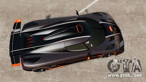 Koenigsegg One:1 for GTA 4 right view