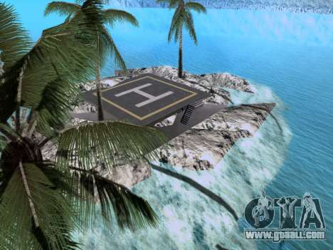 New island v1.0 for GTA San Andreas seventh screenshot