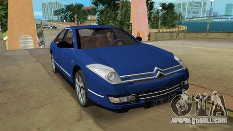 Citroen C6 for GTA Vice City