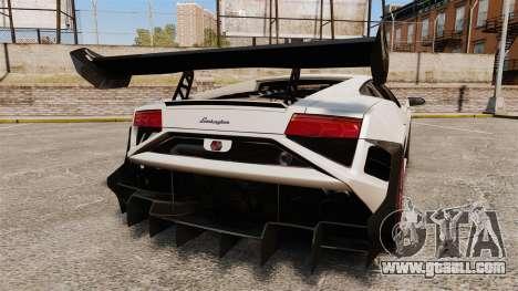 Lamborghini Gallardo LP570-4 Super Trofeo for GTA 4 back left view