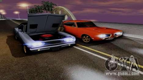 Dodge Coronet RT 1969 440 Six-pack for GTA San Andreas