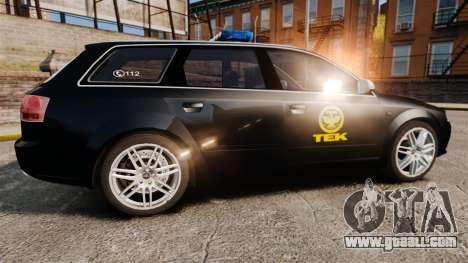 Audi S4 Avant TEK [ELS] for GTA 4 left view