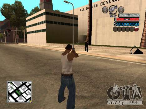 The new C-HUD for GTA San Andreas second screenshot