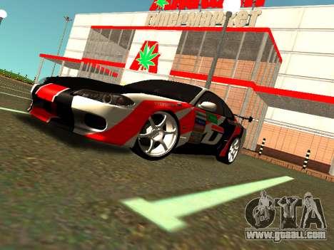 Nissan Silvia S15 Team Dragtimes for GTA San Andreas