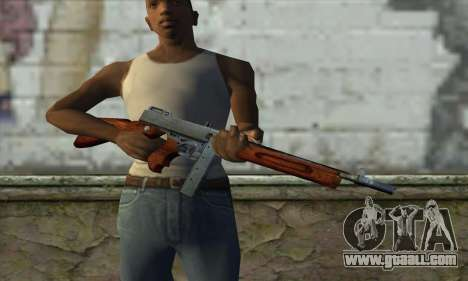 Thompson M1 for GTA San Andreas third screenshot