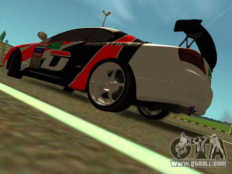Nissan Silvia S15 Team Dragtimes for GTA San Andreas back left view