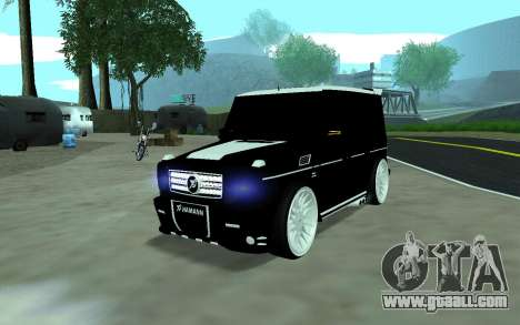 Mercedes G65 new tuninG for GTA San Andreas