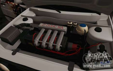 Volkswagen Golf 2 for GTA San Andreas upper view