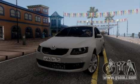 Skoda Octavia A7 for GTA San Andreas