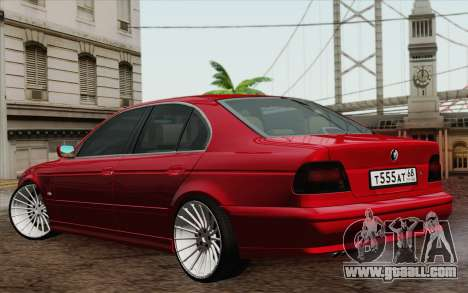 BMW M5 E39 2003 for GTA San Andreas right view
