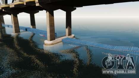 The road under the bridge for GTA 4 forth screenshot