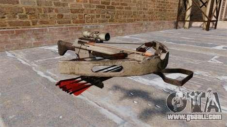 Crossbow for GTA 4