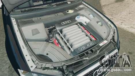 Audi S4 Avant TEK [ELS] for GTA 4 inner view