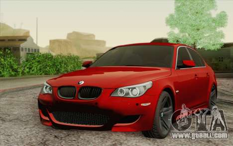 BMW M5 E60 for GTA San Andreas left view