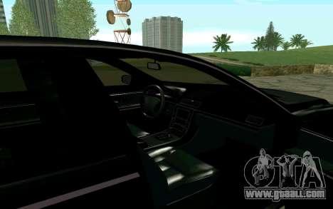 Maybach 57 TT Black Revel for GTA San Andreas right view