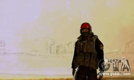 Kopassus Skin 1 for GTA San Andreas third screenshot