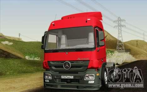 Mercedes-Benz Actros for GTA San Andreas