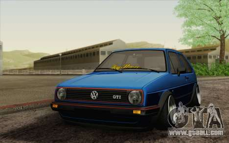 Volkswagen Golf MK2 LowStance for GTA San Andreas