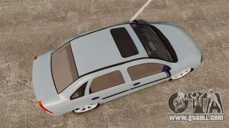 Chevrolet Corsa Premium Sedan for GTA 4 right view