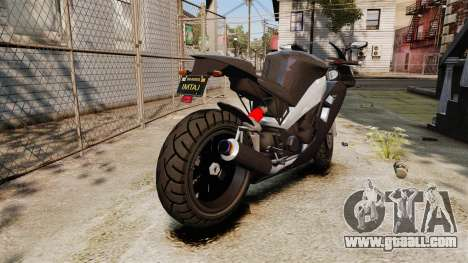 GTA V Nagasaki Carbon RS for GTA 4 right view