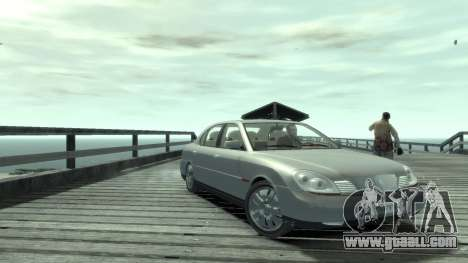 Daewoo Shiraz for GTA 4 back left view