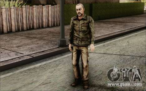Pete from Walking Dead for GTA San Andreas third screenshot