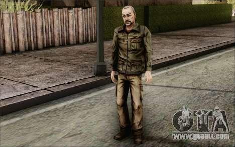 Pete from Walking Dead for GTA San Andreas third screenshot