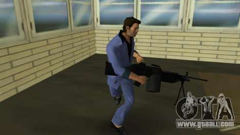 M249 из Battlefield 2 for GTA Vice City forth screenshot