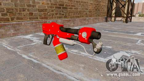 The flamethrower MX-295 for GTA 4