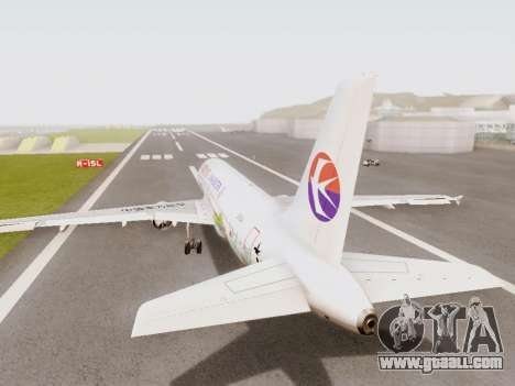 Airbus A320-211 China Eastern for GTA San Andreas right view