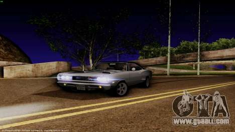 Dodge Coronet RT 1969 440 Six-pack for GTA San Andreas