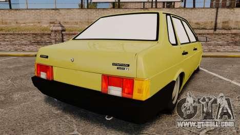 VAZ-21099 Lada Sputnik for GTA 4 back left view