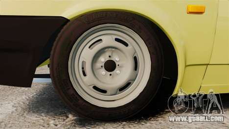 VAZ-21099 Lada Sputnik for GTA 4 back view