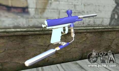 Paintball Gun for GTA San Andreas second screenshot