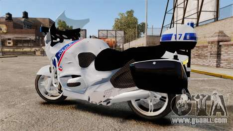 BMW R1150RT Police nationale [ELS] for GTA 4 left view