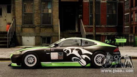 Jaguar XKR GT for GTA 4 left view