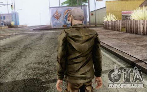 Pete from Walking Dead for GTA San Andreas second screenshot