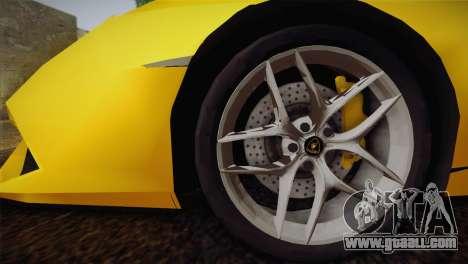 Lamborghini Huracane LP 610-4 V2.0 for GTA San Andreas left view
