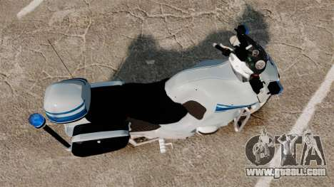 BMW R1150RT Police municipale [ELS] for GTA 4 right view